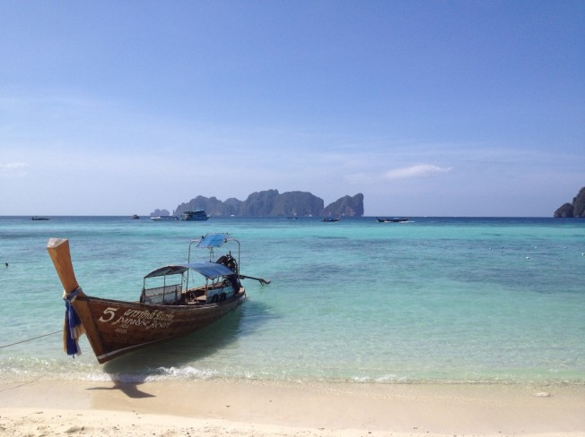 Gorgeous views of Phi Phi Ley
