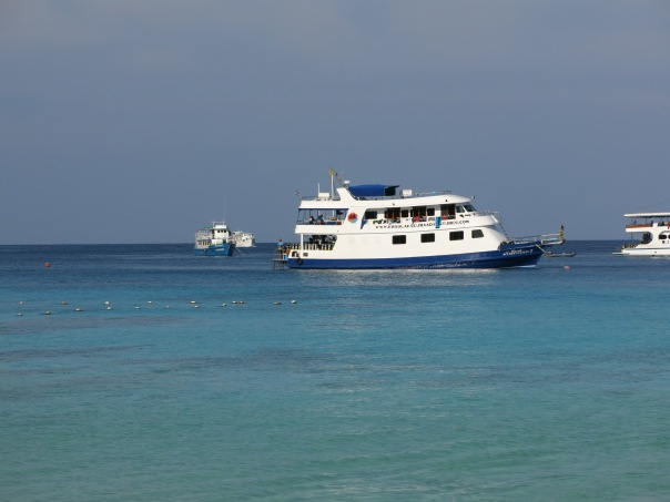 Our home away from home, the Manta Queen II