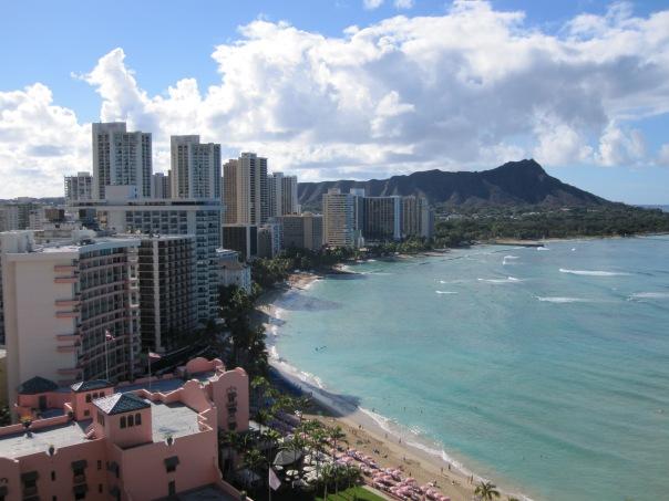 Waikiki Beach & Diamond Head - Oahu Hawaii
