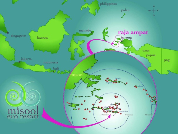 Where in the world is Raja Ampat?