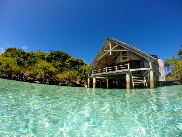 Water cottage #5...the most perfect spot for a honeymoon